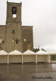 Santuari de Pinós plovent