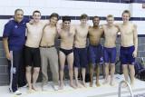 STA Swim Team at IAC Championships - February 22, 2010