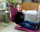 Linus hos tandläkaren