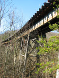 Railroad Trestle at McCoys Ferry - 2nd Perspective