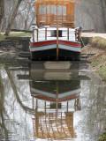 The Charles Mercer in dry dock