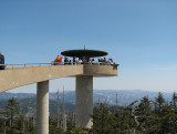 Smoky Mountains on Day 5 - Clingman's Dome