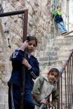 Three children - Jerusalem