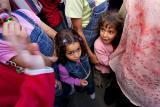Girls in the crowd - Ramallah