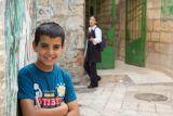 Boy and girl - Jerusalem