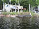 Dock Damage with Debris Deposits