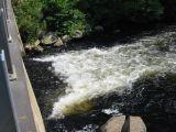 Flow under Crystal Lake Road