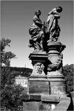 charles bridge statues prague