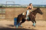 Rodeo - Women's Barrel Racing, Las Cruces (2010)