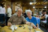 Doug & Marie, dinner Bryce Lodge