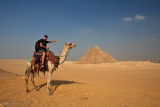 Great pyramid and Sphinx Giza