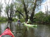 Kayaking near Round LakeJuly 11, 2010