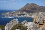 View of Simon's Town from Red Hill