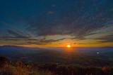 Sunsetting Behind the Shenandoah Mountains
