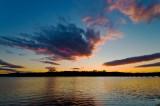 Sunset on the Potomac at Leesylvania State Park