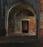 Interior Fort Morgan (circa 1833), AL