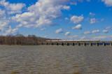 Amtrak crossing Powell's Creek at Leesylvania State Park, VA