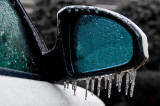When Ice Forms on a Sideview Mirror