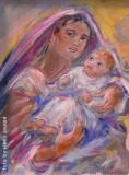 Madonna con bambino, by Stellario Baccellieri 2009