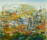 Tetti romani, by Stellario Baccellieri 1999