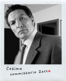 Cosimo Fusco  è Erminio Zecca, il Capo Dipartimento Sicurezza Nazionale