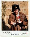 Nicholas è il giocatore di carte