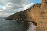 La spiaggia di Pollara e il riparo delle barche