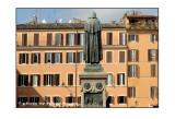 Le finestre che guardano Giordano Bruno