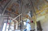 Interno della Chiesa della Scarzuola
