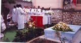 21 octobre 1994: Père TI JAN dans la messe commémoration Jm Vincent