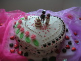 HAPPY WEDDING CAKE