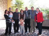 Ovando Atristain & Ovando Solís Families with uncle Federico