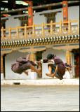 Punakha Dzong Dance