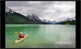 Kayaking in BC, Canada