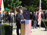 Hans van Toer, master of ceremonies and member of the monument committee