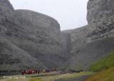 Kittiwake Colony in Ravine,  Diskobukta Svalbard 2
