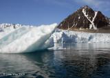 Liefdefjord Monacobreen Glacier,  Svalbard  2