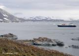 National Geographic Explorer in Hornsund, Svalbard