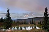 Mt. McKinley Sunrise from Camp Denali  1