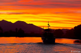 Mt Diablo  Sunset  5 --- 2013 Town of Discovery Bay Calendar cover photo