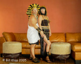 King Tut and Cleo