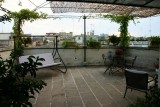 our terrace to relax after a busy day...