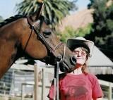 Wyndi, my Arab mare & me