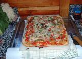 Pizza Hawaiana Cocida