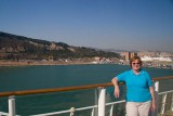 Claudia with Barcelona as a Backdrop.