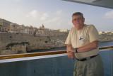 Me with Malta as a Backdrop
