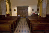 Inside the Holy Cross Chapel
