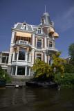 An Amsterdam Canal Villa