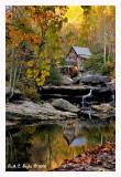 Reflections of Glade Creek Grist MillDigital Image Cafe Wins:POTD 10-23-2008 POTM 11-14-2008POTQ  4 th