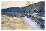 Daybreak Along the Delaware River
